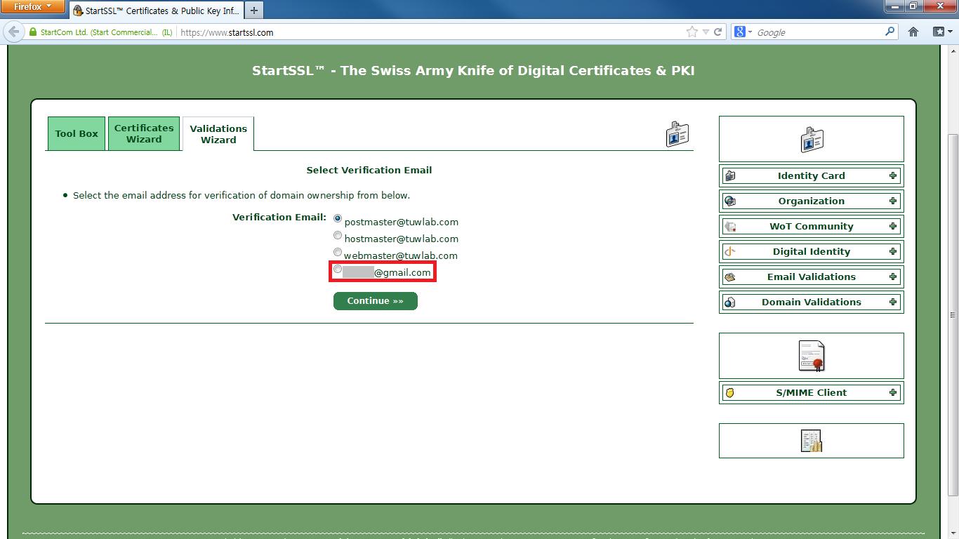 4-5 Domain Name Validation