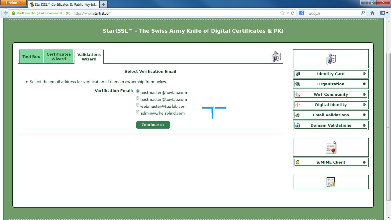 4-3 Domain Name Validation