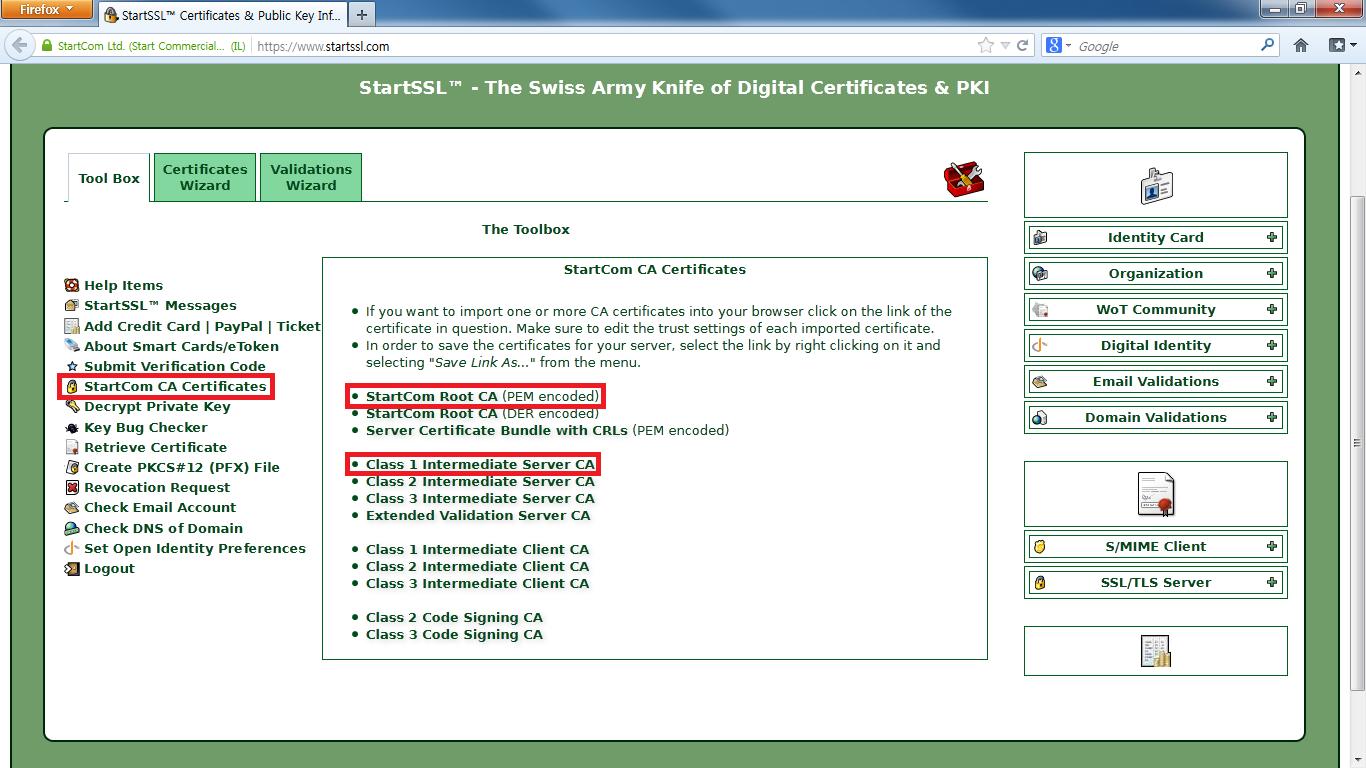 6 CA Certificate
